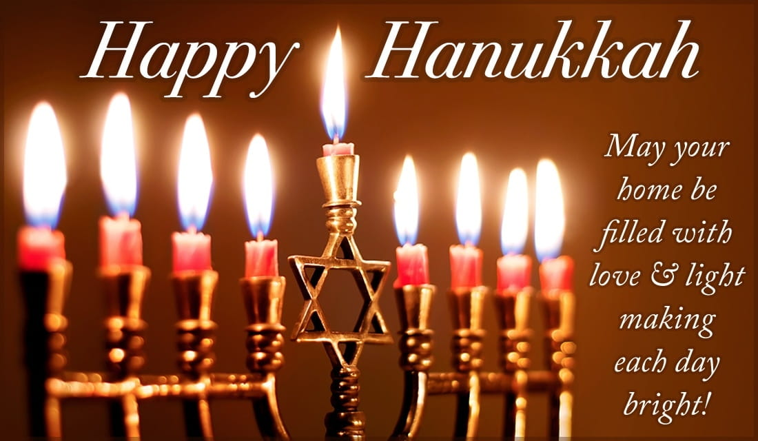 Happy Hanukkah Wishes, Greetings, Quotes Sayings