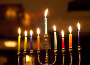 hanukkah 2019 candle lighting times