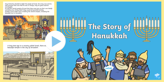 Happy Hanukkah story 2019 | Hanukkah story |  Story of Chanukah |  History of Hanukkah