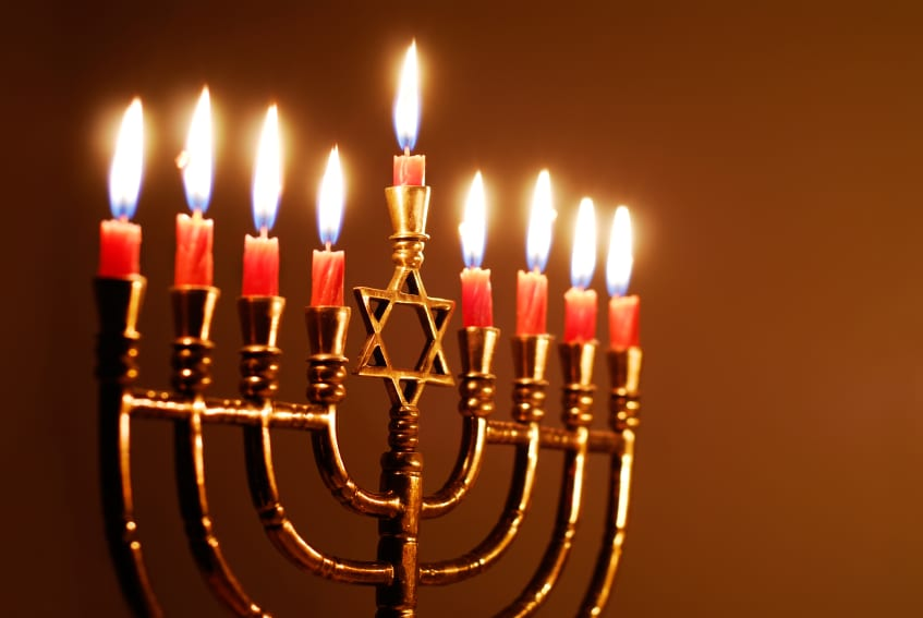 Happy Hanukkah Candle Images