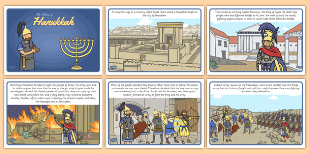 the story of hanukkah for kids