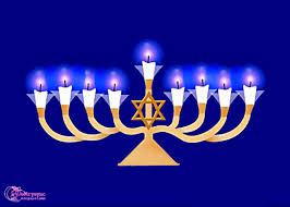Blessing of the candles Chanukkah